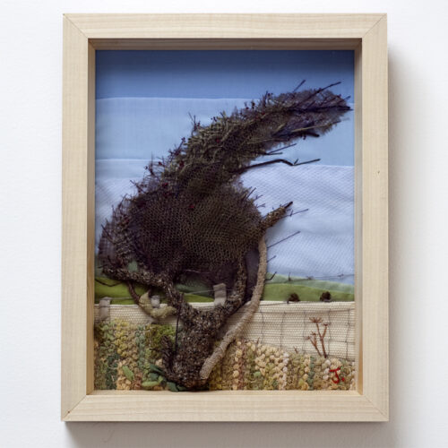 Autumn Tree by Jessica Coote Creative Hand Embroidered Landscapes