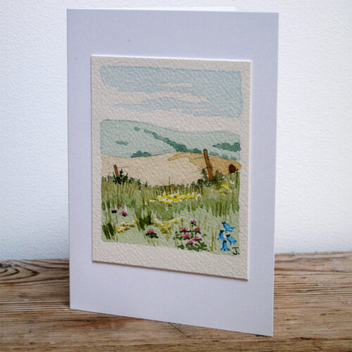 East Sussex - Original Watercolour Painting by Jessica Coote