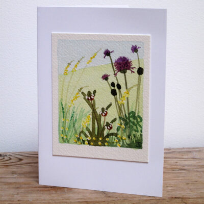 Wild Flowers - Original Watercolour Painting by Jessica Coote