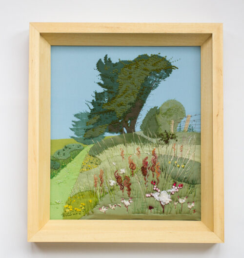 Horthorn – Hand Embroidered Landscape by Jessica Coote