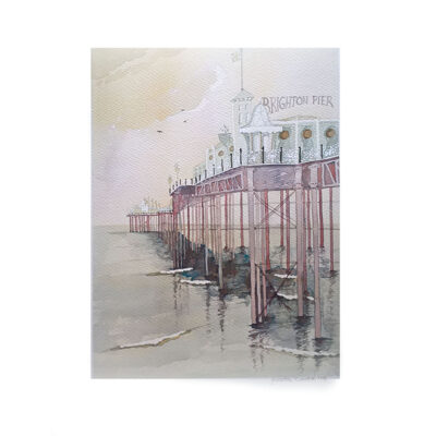 A-Misty-Pier-Original-Watercolour-Painting-by-Jessica-Coote