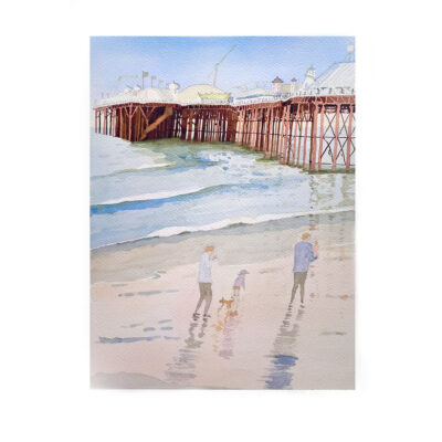 Morning-Walk-Original-Watercolour-Painting-by-Jessica-Coote