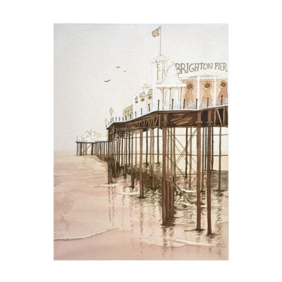 Pier-Tone-Original-Watercolour-Painting-by-Jessica-Coote